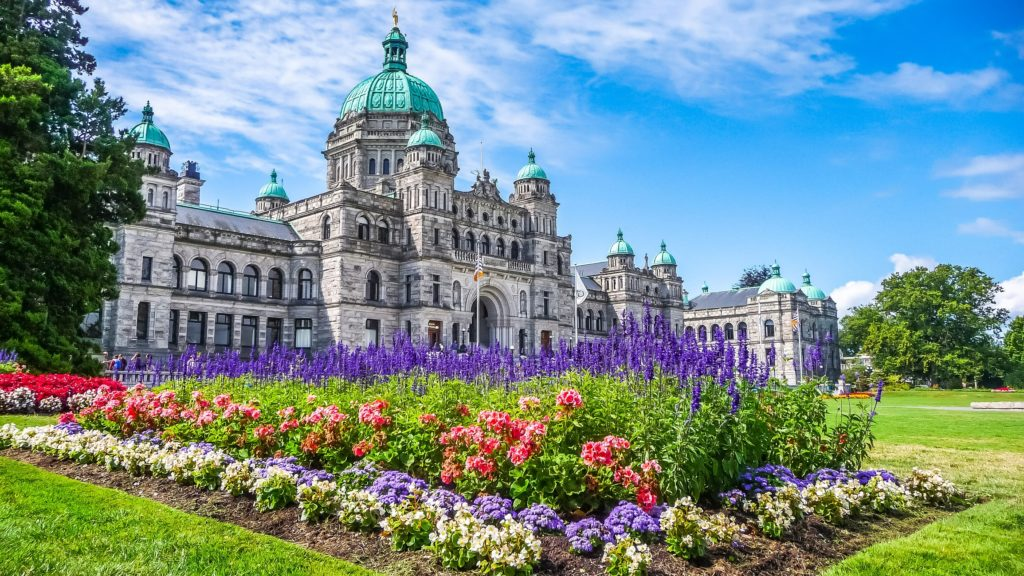 Victoria is the capital of BC