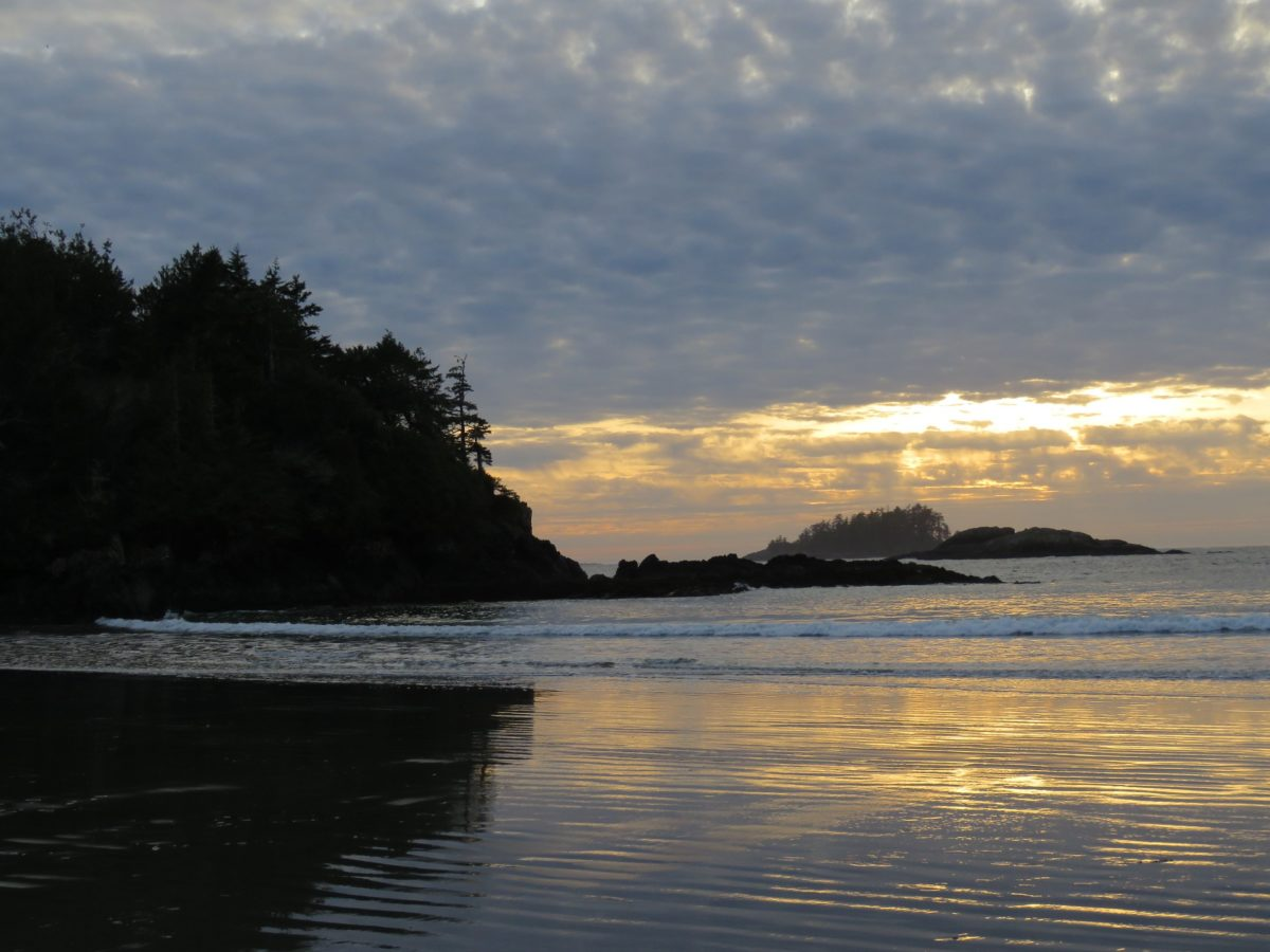Sunset Vancouver Island waterfront estate for sale