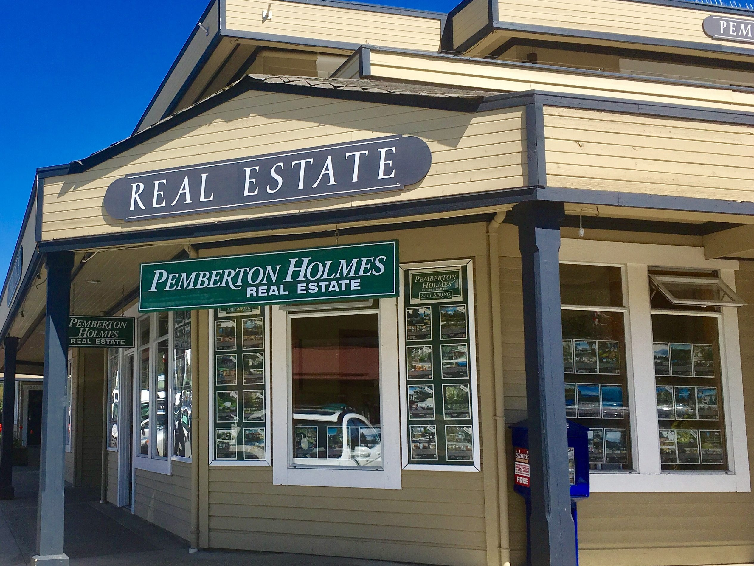 Pemberton Holmes Salt Spring Island BC office contact information