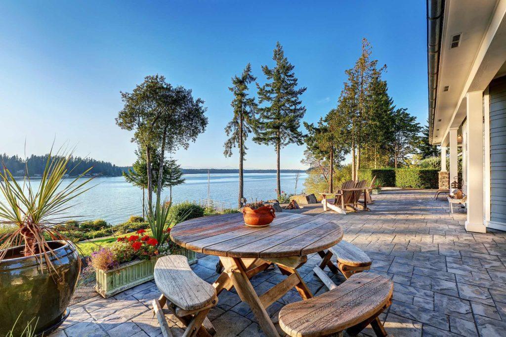Waterfront estate Victoria British Columbia